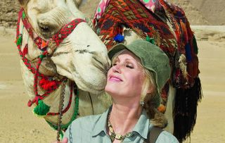 Joanna Lumley is back on the Nile as a series revisiting her travels