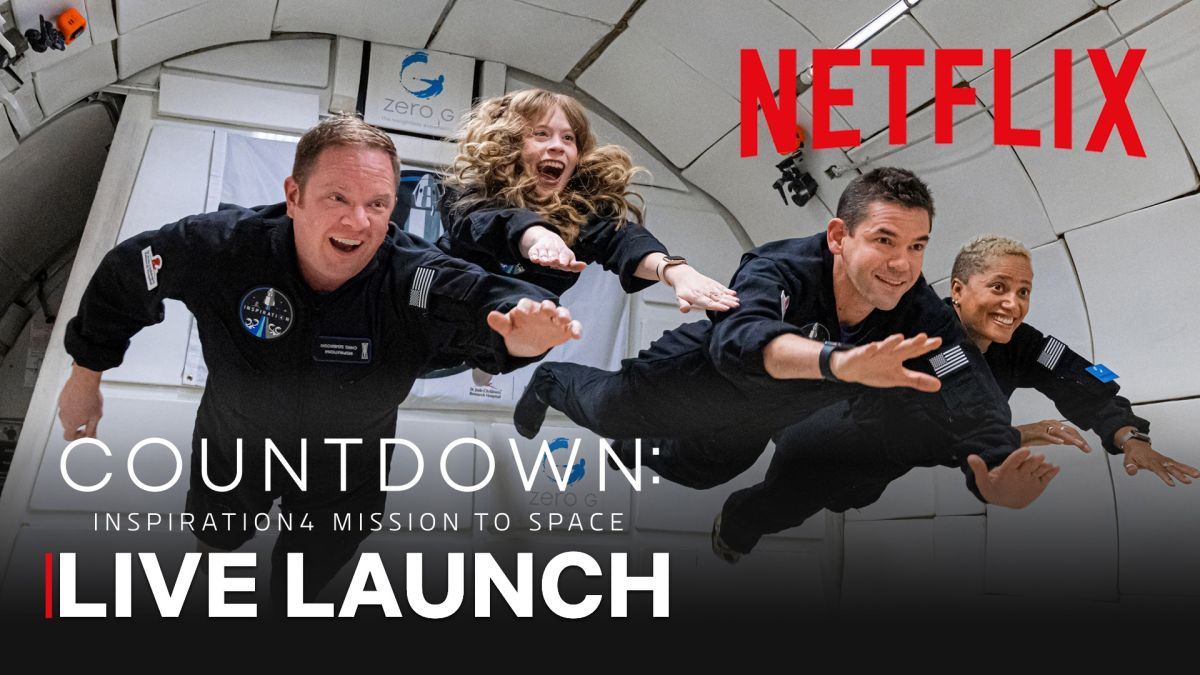 Netflix to livestream SpaceX's Inspiration4 all-civilian launch with celebrity-packed countdown event