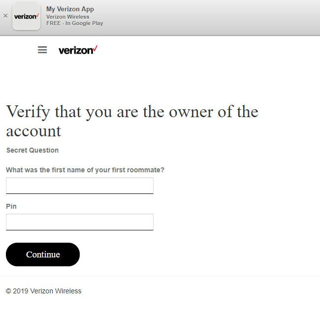 Verizon Users Targeted with Nasty Phishing Scam | Tom's Guide