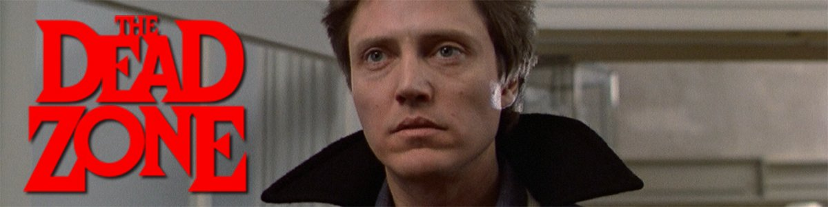 Adapting Stephen King banner The Dead Zone