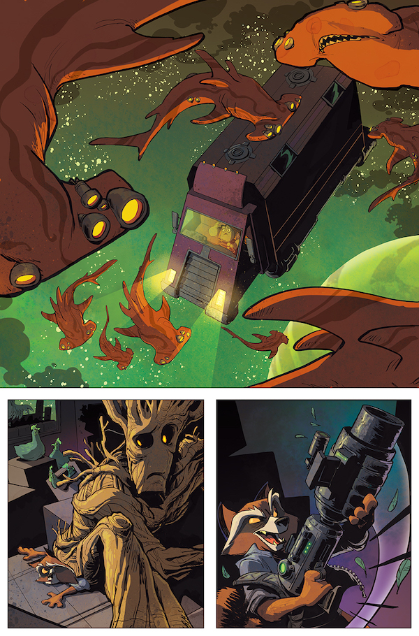 Groot's Latest Adventure Will Separate Him From Rocket Raccoon #32791