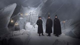 Three of the cast of The Terror season one.