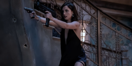 After Revealing New Action Training Routine, Bond Girl Ana De Armas Is Practicing Her Shooting