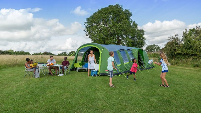 best inflatable tent: Coleman weathermaster