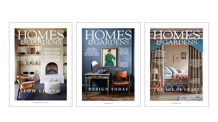 Subscribe to Homes & Gardens magazine