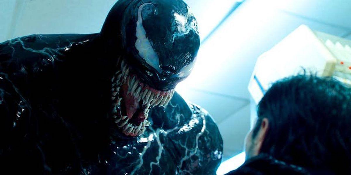 Tom Hardy in Venom 2018