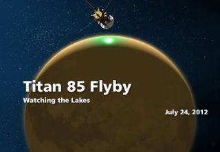 Titan 85 Flyby