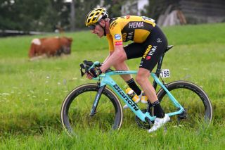 Jumbo-Visma's Jos van Emden – pictured at the 2020 Tour de Pologne – has made a number of suggestions to improve rider safety at races