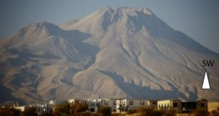Hasan Dag volcano in Turkey