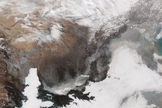 Smoggy China