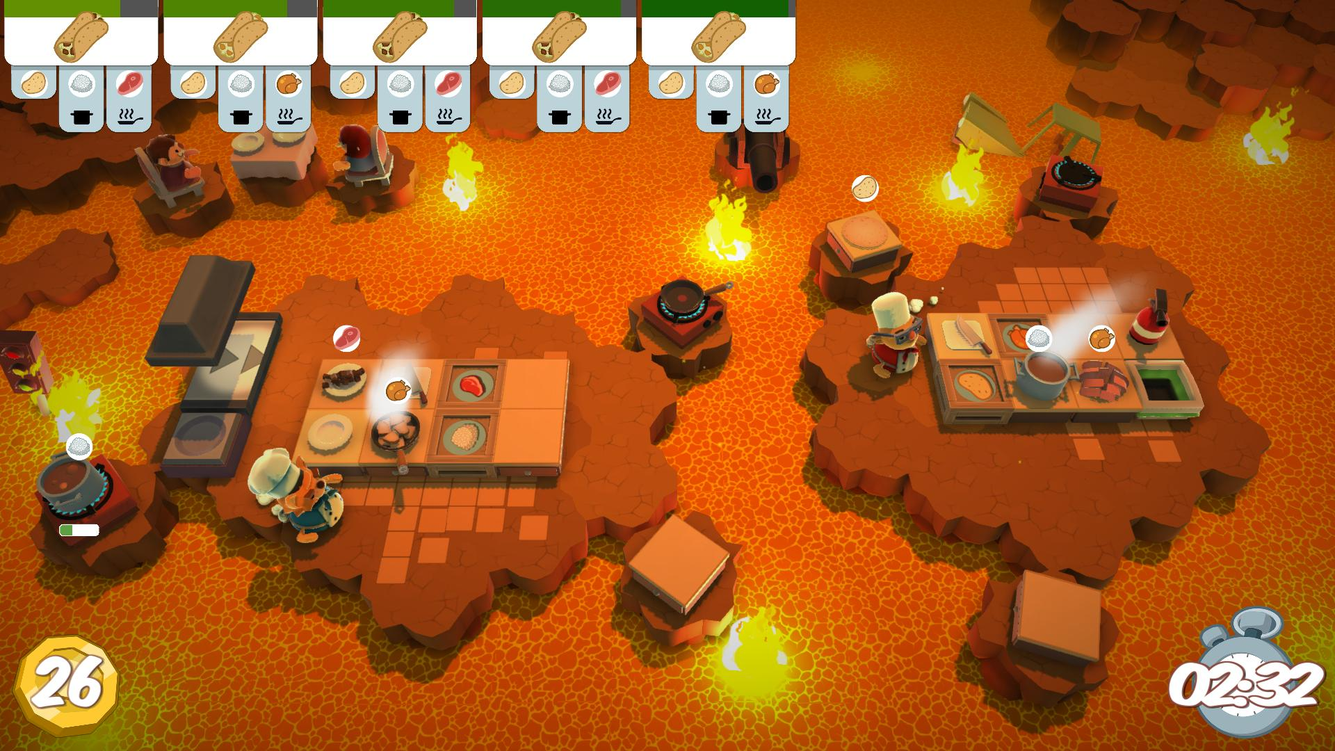 Ordinaire Chaotic Kitchen Simulator Overcooked Out Now, Serves Up Launch Trailer | PC  Gamer