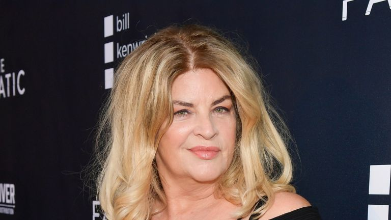 """HOLLYWOOD, CALIFORNIA - AUGUST 22: Kirstie Alley attends the premiere of Quiver Distribution's """"The Fanatic"""" at the Egyptian Theatre on August 22, 2019 in Hollywood, California. (Photo by Matt Winkelmeyer/Getty Images)"""