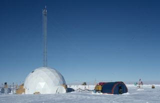 Ice Core Drilling Station