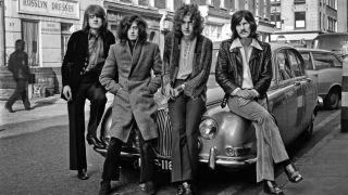 A shot of Led Zeppelin in the 70s