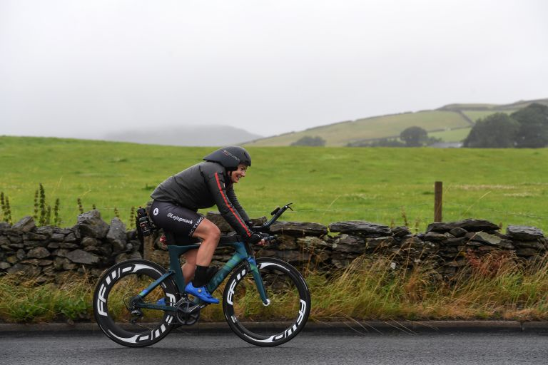 Christina MacKenzie riding from Land's End to John O'Groats breaking the women's record that has been held since 2002