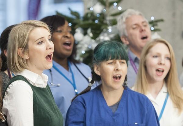 NHS Choir Justin Bieber