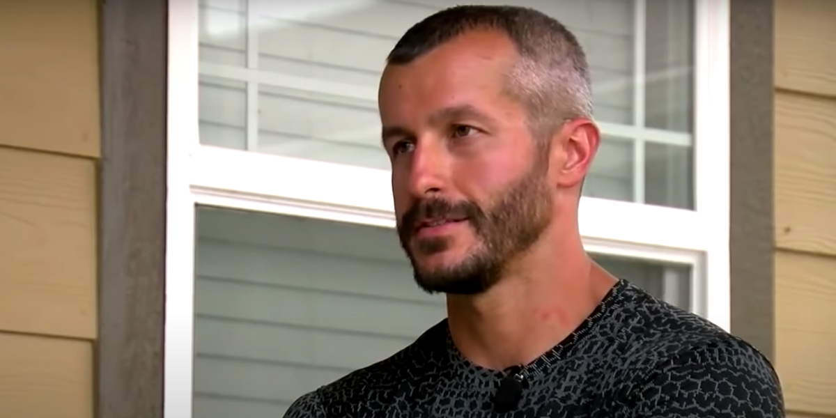 Chris Watts talking to media after the disappearance of his family