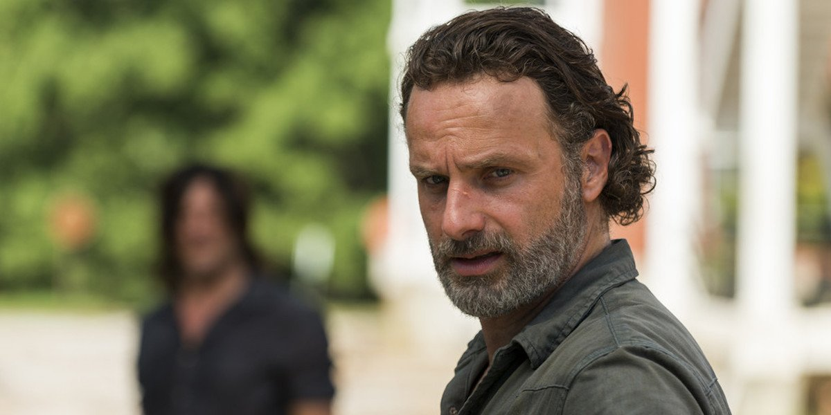 The Walking Dead Boss Explains Delay In Andrew Lincoln's Rick Grimes Movie