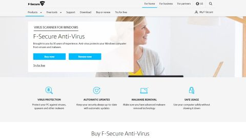 F-Secure Anti-Virus review