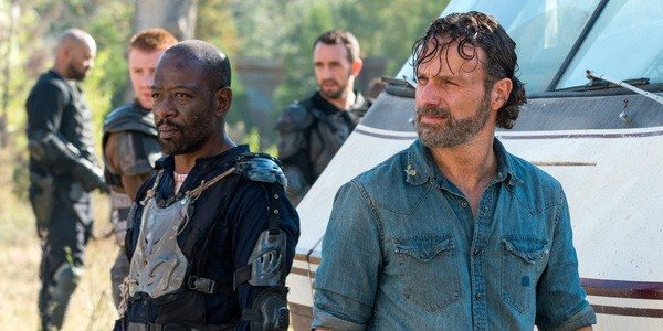 The Walking Dead Morgan and Rick AMC
