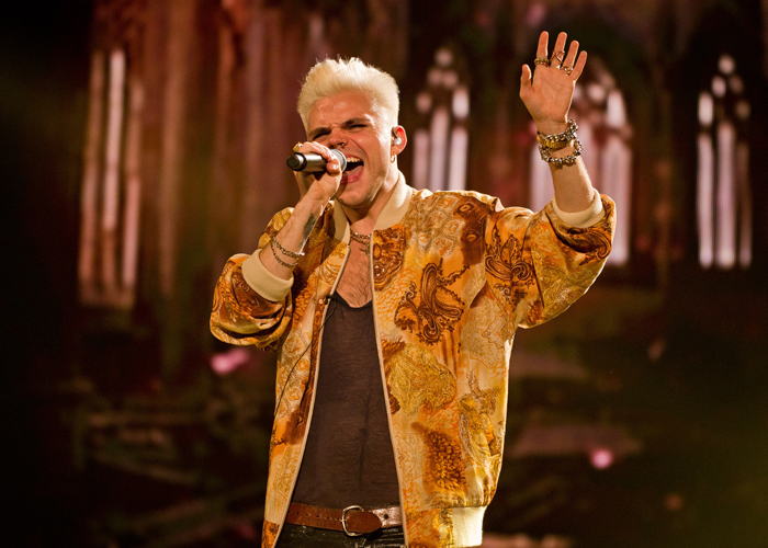 The Voice: Vince Kidd finishes fourth in final