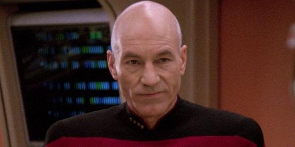 Captain Picard Star Trek: The Next Generation CBS