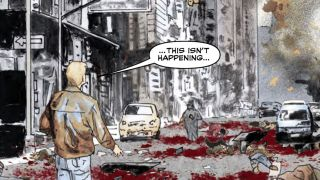 DC's GI Zombie duo of Jimmy Palmiotti and Scott Hampton reunite for Rage