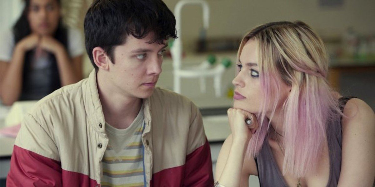 Asa Butterfield, Emma Mackey - Sex Education