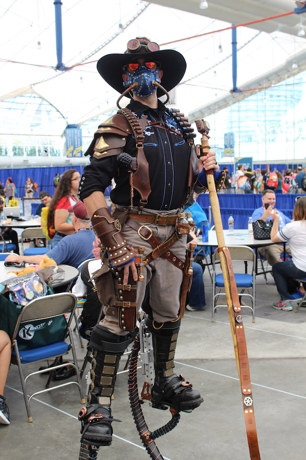 SDCC costume stilts