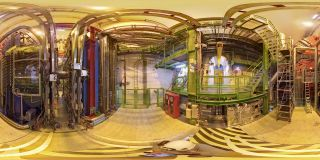 inside A Large Ion Collider Experiment