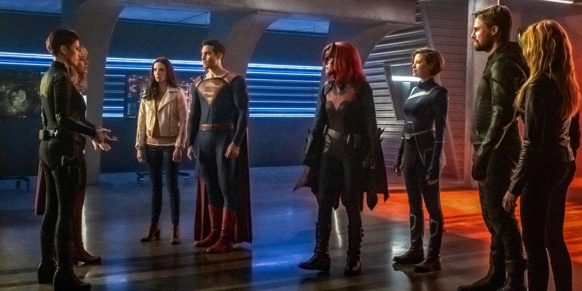 Arrow-verse Boss Explains Giant Crisis On Infinite Earths Crossover Shock