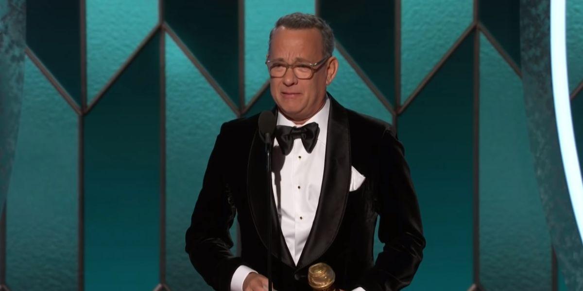 Tom Hanks at 2020 Golden Globe Awards