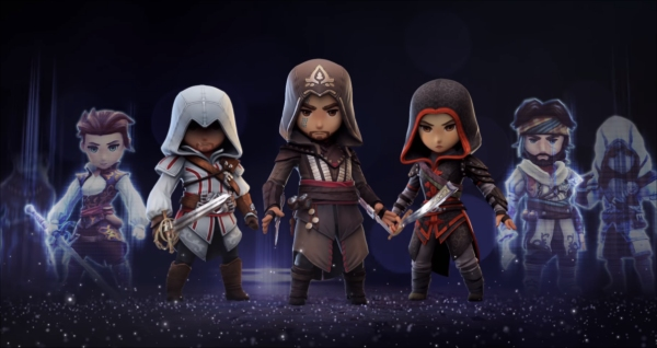 Assassin S Creed Rebellion Is A Mobile Strategy Game With The