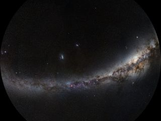Fisheye view of the Southern Sky