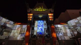 Christie 360 Experiential Studios Develops Projection Mapping for TCL Chinese Theatre