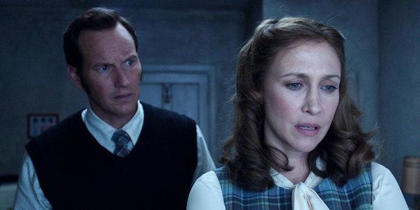 Patrick Wilson and Vera Faemiga in The Conjuring 2