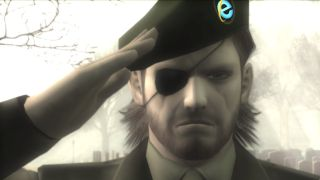 Snake salutes IE