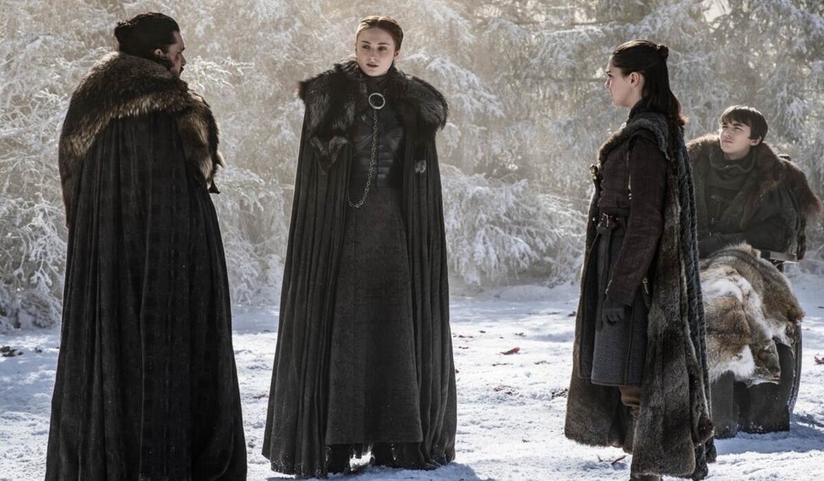 Game of Thrones Jon Snow Kit Harington Sansa Stark Sophie Turner Arya Stark Maisie Williams Bran Sta