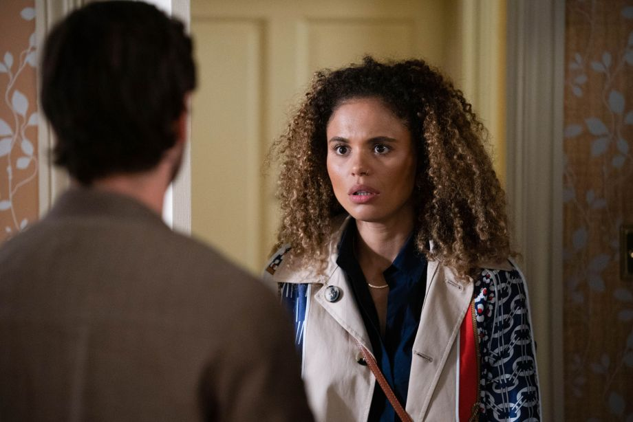 Chantelle is unaware that things are about the get worse for her in EastEnders
