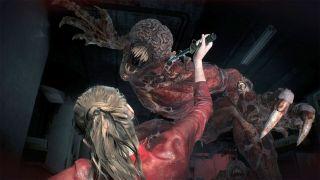 A screenshot of Resident Evil 2.