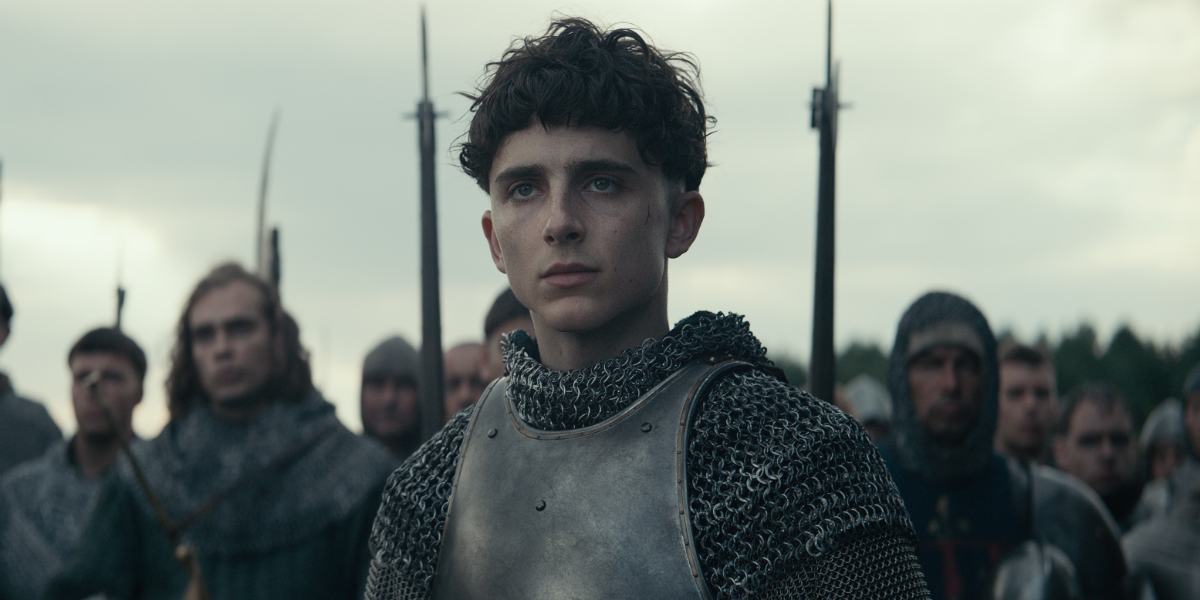 The King Timothée Chalamet King Henry V Netflix