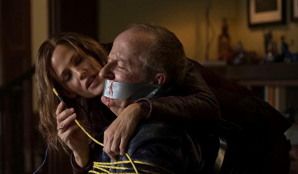 Peppermint Jennifer Garner getting ready to torture a man