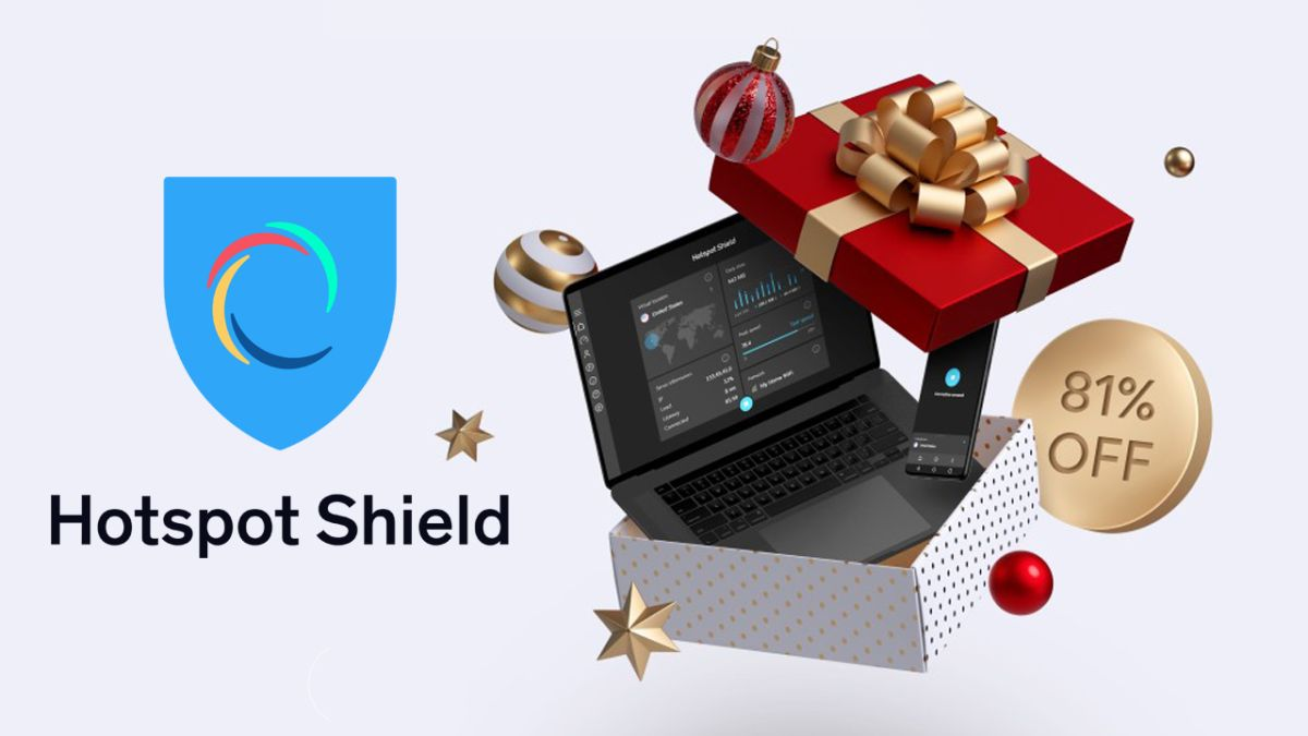 VPN deal: save a huge 81% with this holiday deal from the ultra-fast Hotspot Shield