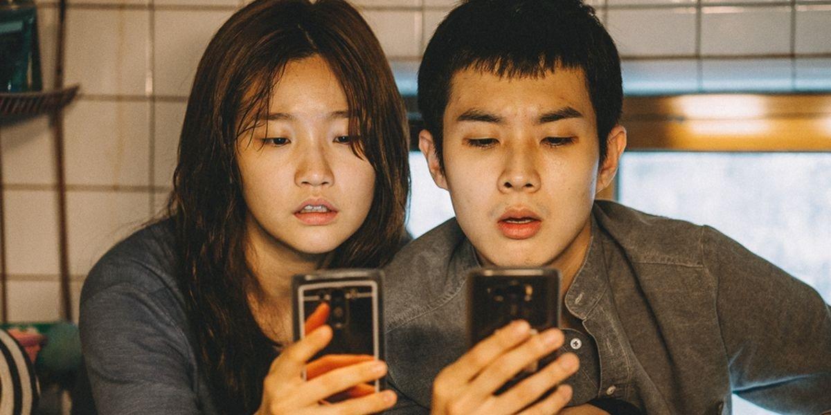 Jeong Ji-So, Choi Woo-shik - Parasite