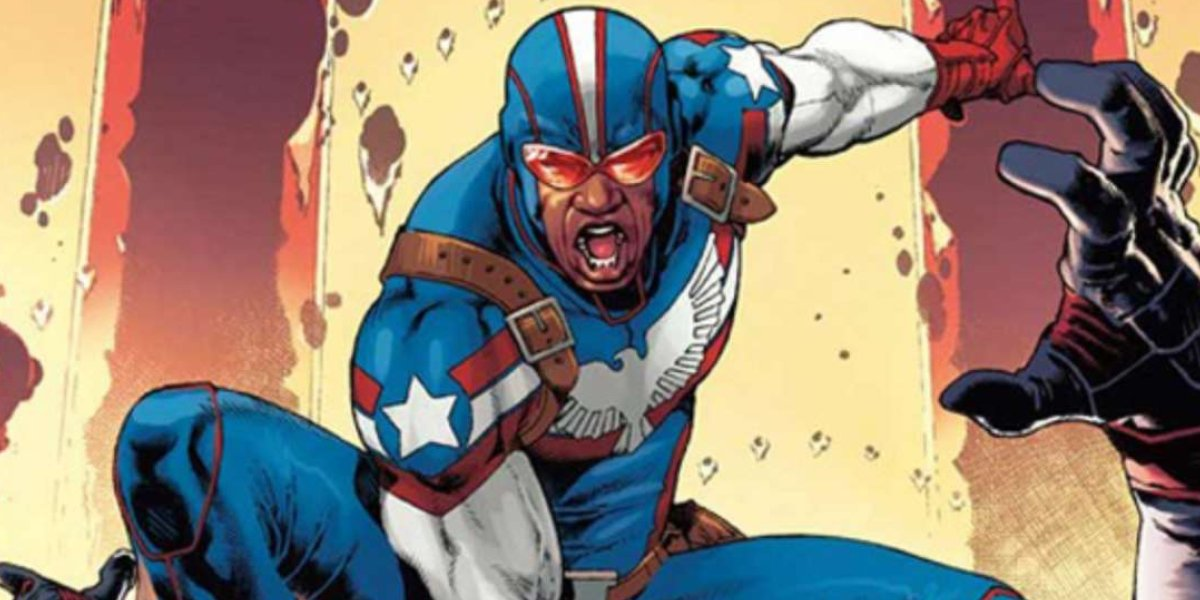 One of Marvel's freshest patriotic heroes, Patriot
