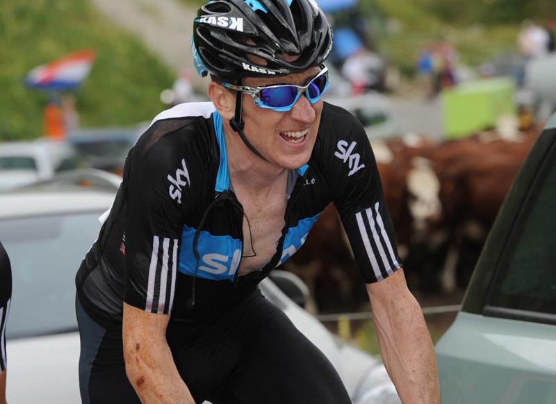 Bradley Wiggins, Tour de France stage 9