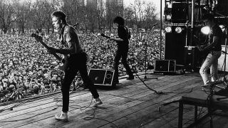 The Clash onstage