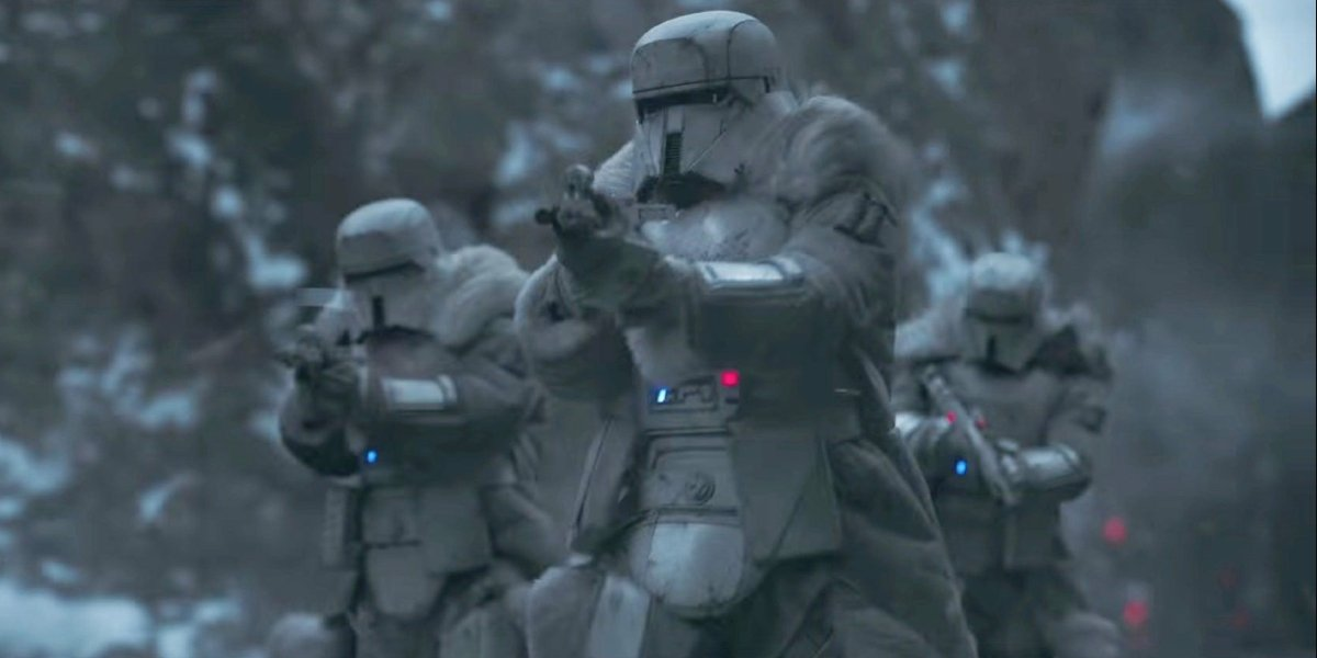 Range troopers in Solo: A Star Wars Story