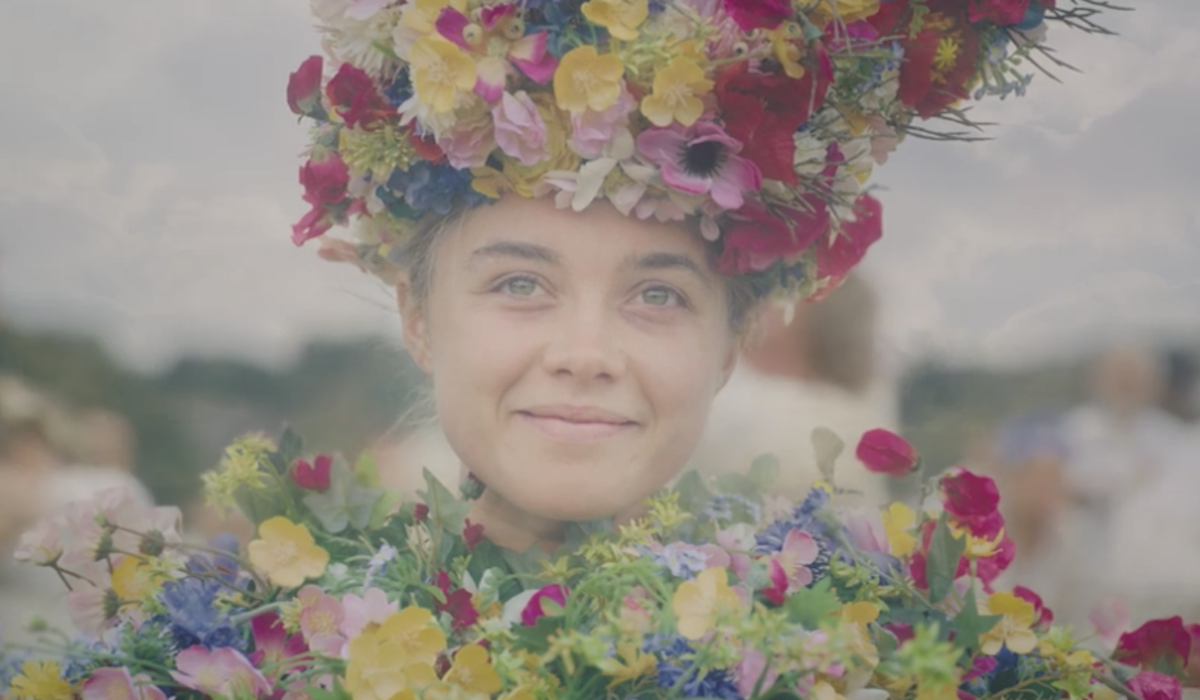 final shot of Midsommar with Florence Pugh