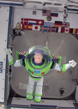 Disney Picks Buzz Lightyear Patch to Fly to Space Station